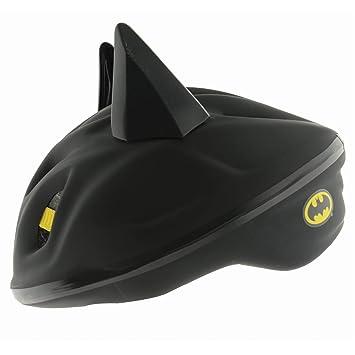 Casco de Seguridad para Niños Palanca Apertura Rápica Diseño Orejas Batman DC Cómics Tamaño 53-