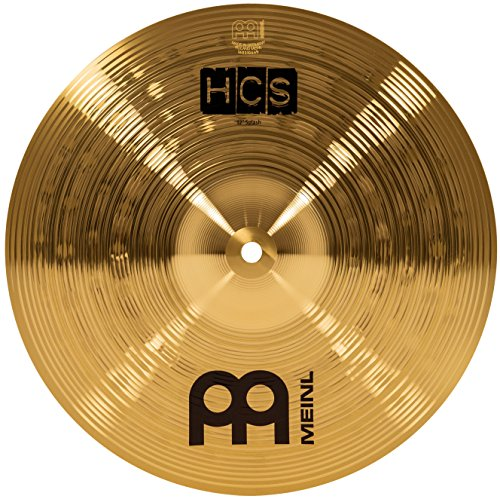 "Meinl 12"" Splash Cymbal – HCS Traditional Finish Brass for Drum Set, Made In Germany, 2-YEAR WARRANTY (HCS12S) ()"