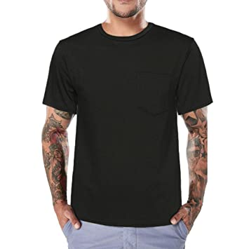 ❤VENMO Camisetas hombre,Camisetas hombre originales,camisas hombre,Blusa hombre,hombres verano Slim Fit Camiseta de manga corta de O culleo,Casual Tops con ...