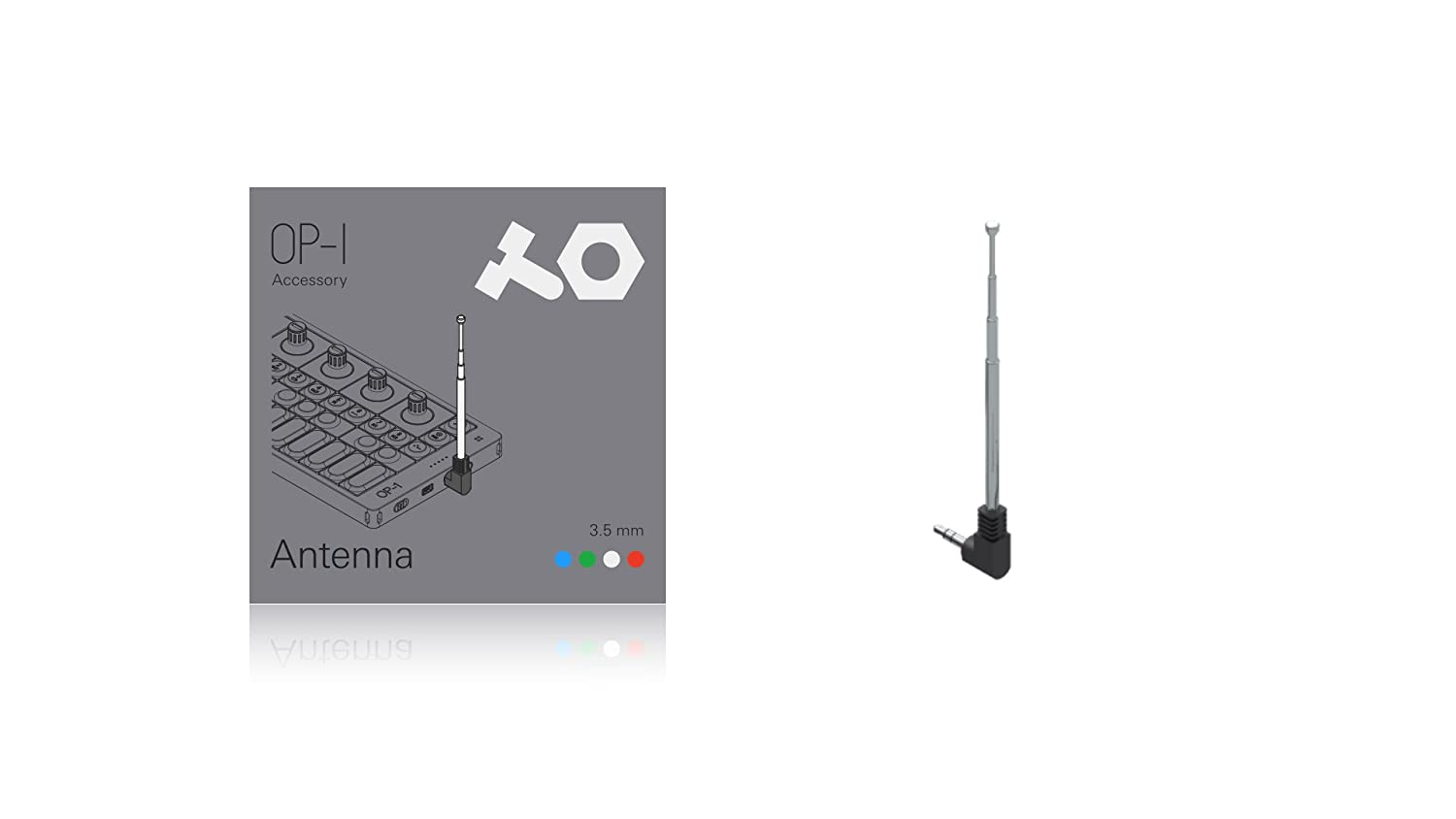 Teenage Engineering - Antena para sintetizador workstation 002.XS.906