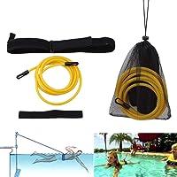 BAODANH Cinturón de resistencia para natación, ajustable,