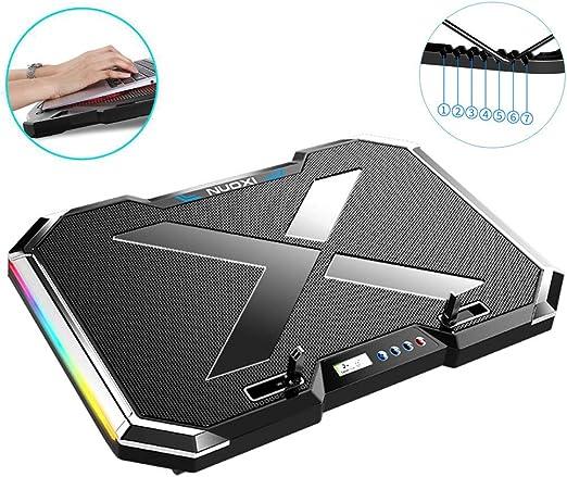 Silencio Ultrafino,Soporte Para Laptop Con Cooler 12