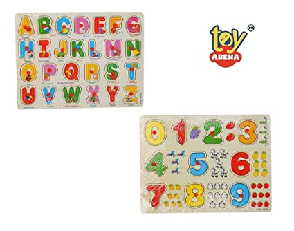 Toy Arena Numbers Board and Alphabet Board