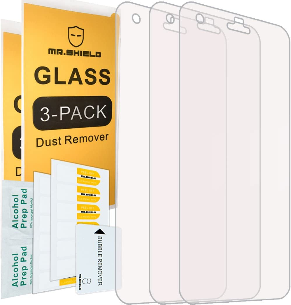[3-PACK]-Mr.Shield For HTC Desire 10 Pro [Tempered Glass] Screen Protector with Lifetime Replacement