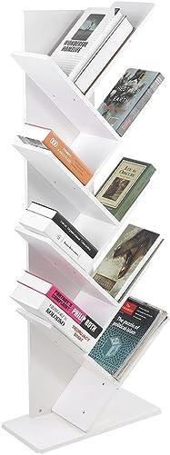 Deal of the week: Tree Bookshelf,9-Shelf Bookcase Display Rack Shelf Organization Display Storage Furniture