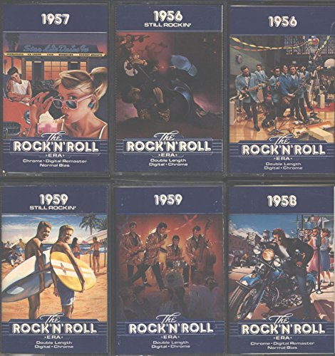 Time Life The Rock'n'Roll Era (10 CASSETTE SET)