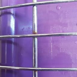 Cromado Premier Housewares con Bandeja extra/íble Color Blanco Escurridor de Platos de 2 Pisos