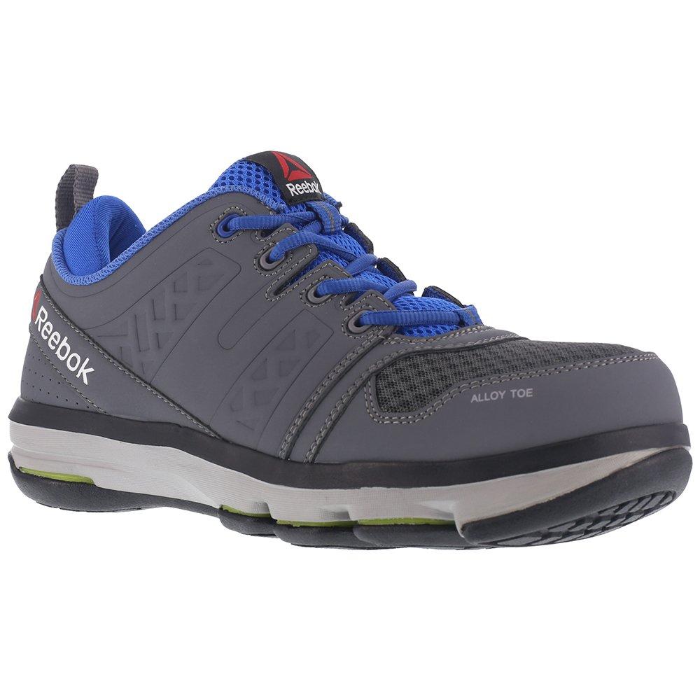 Reebok Work Men's Dmx Flex Work RB3604 Industrial and Construction Shoe, Grey, 15 W US