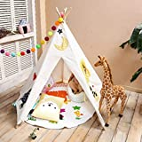LoveTree® Children India Teepee-Embroidery Elephant-Preassemble