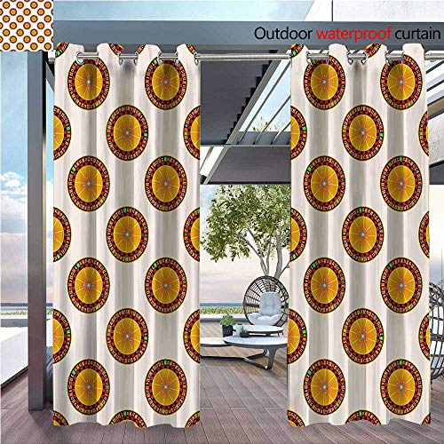 DESPKON Shading Polyester Material Casino Roulette CartoNights Vacatis Parties Enjoyment Crowded for Outdoor Room Decoration W120 x L96 INCH