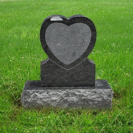 Amazon Com Butterfly Blue Granite Monument Heart