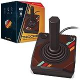 "Hyperkin ""Trooper"" Premium Controller for Atari 2600/ RetroN 77 (Color May Vary)"