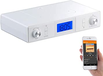 Auvisio Radio De Cuisine Fm Stereo Avec Fonctions Bluetooth Mps