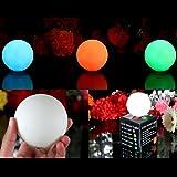 3 Boules Lumineuses - Sphères LED Lampes d'Ambiance avec Couleurs Changeantes, Lumières Rondes d'Atmosphère de PK Green