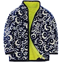 Chaqueta de forro polar unisex para bebé, gruesa y cálida, abrigo de manga larga con cremallera