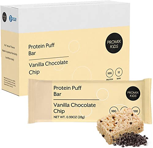 School Safe Snack Bar I Gluten Peanut-Free I Low Sugar I Balanced Protein I Dietitian Mom Approved I Non-GMO Organic Ingredients I Easy Breakfast Nutrition Snickerdoodle Vanilla