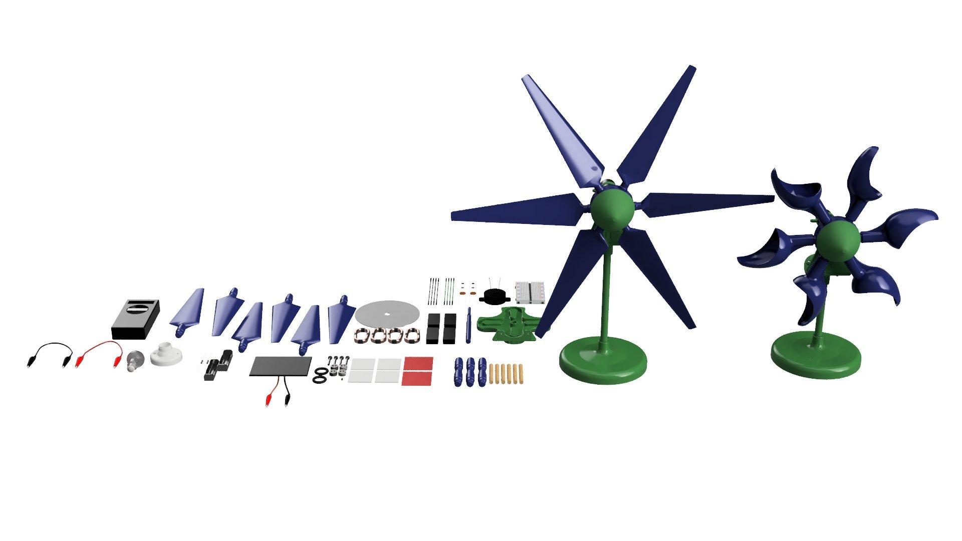 PicoTurbine Alternative Education Wind, Solar, Hydro, & Electricity Lab by PicoTurbine