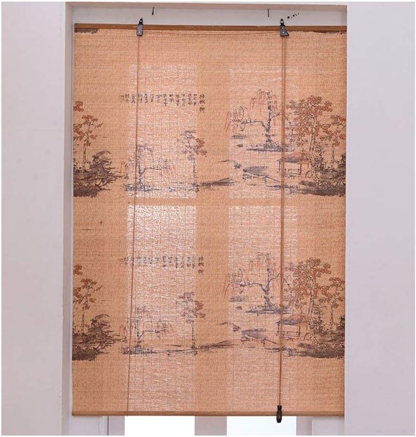 Estores De Bambú Persianas QIANDA Tabique Venecianas Enrollable Cortina for Puertas Y Balcones, Cualquier Tamaño (Color : A, Size : 100cm x 200cm): Amazon.es: Hogar