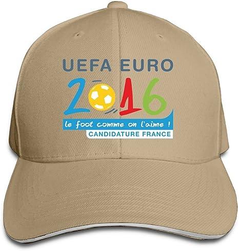 maneg Euro 2016 Logo Png Sandwich gorro con visera y gorra: Amazon ...