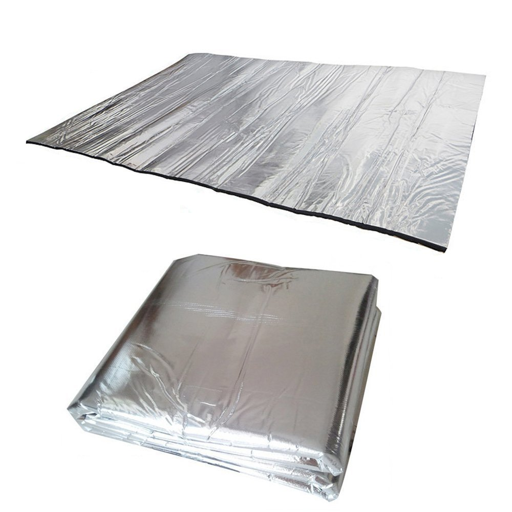 Guteauto 236 mil 15 sq ft Sound Deadening Mat Sound Deadener Soundproof Cotton