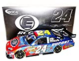 AUTOGRAPHED 2008 Jeff Gordon #24 DuPont Racing SALUTE THE TROOPS (Patriotic) Signed NASCAR RCCA ELITE 1/24 NASCAR Diecast Car with COA (#0569 of only 1,000 produced!)
