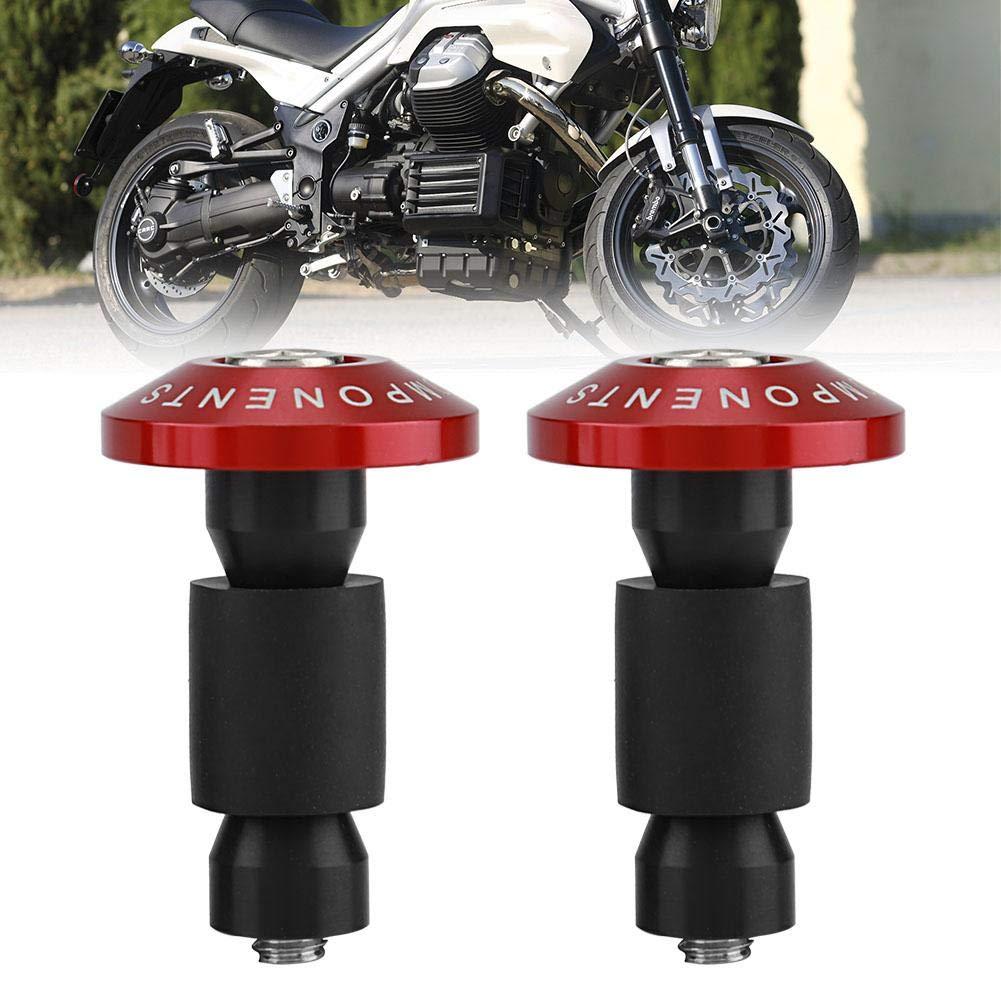 1 paio di tappi universali per manubrio moto KIMISS per la maggior parte delle moto con manubri da 22 mm di diametro.