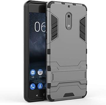 stengh Funda para Nokia 6 Nokia6 Observation Bracket Case Cover 5 ...