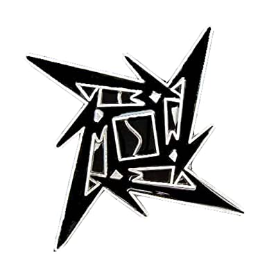 Amazon.com: Metallica Ninja Star Novelty Belt Buckle: Clothing