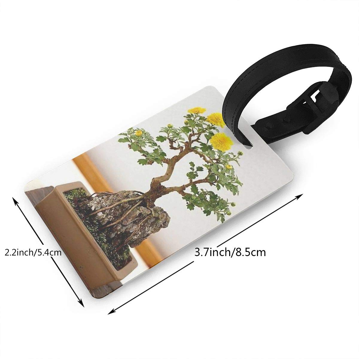Bonsai Handbag Tag For Travel Tags Accessories 2 Pack Luggage Tags