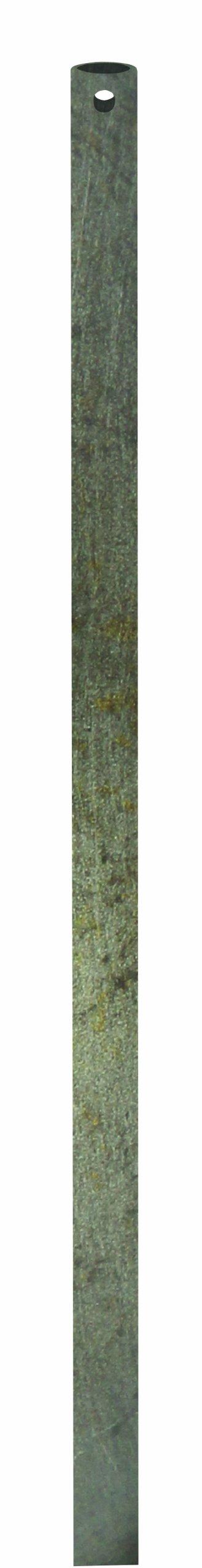 Emerson CFDR18VS Ceiling Fan 1-1/2-Feet Down Rod, Vintage Steel