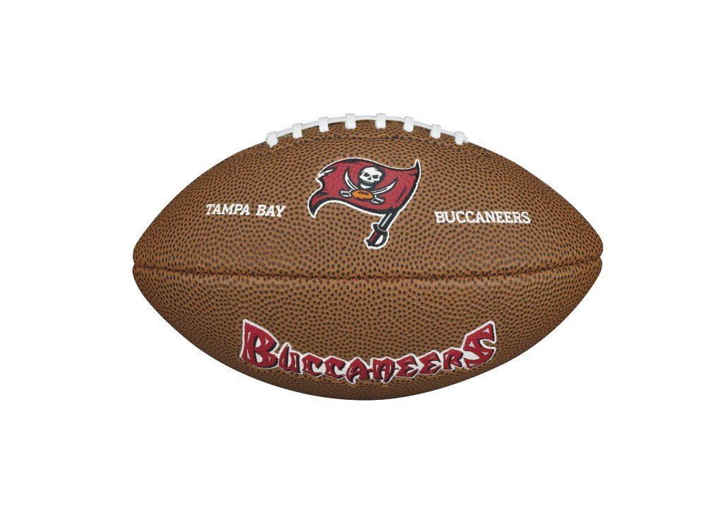 NFL Mini Team Logo Ball Tampa Bay Buccaneers by Wilson WTF1533IDTB