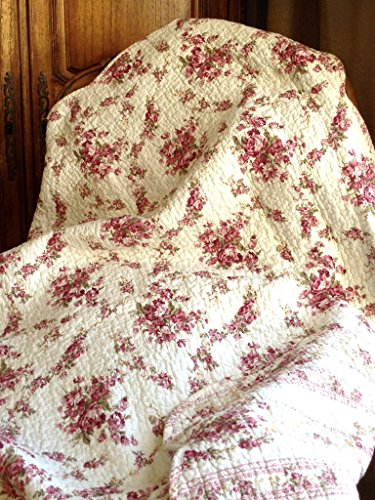 English Floral Quilt - 9
