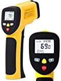 Temperature Gun by EnnoLogic (TM) - Dual Laser Non-Contact Infrared Thermometer -50°C to 650°C - Accurate Digital Surface IR Thermometer eT650D