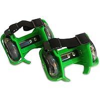 Nouveau Patins à roulettes clignotant tailles réglable LED Vert