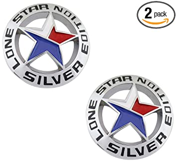 Amazon Com Muzzys Set Of Two Lone Star Silver Edition Texas