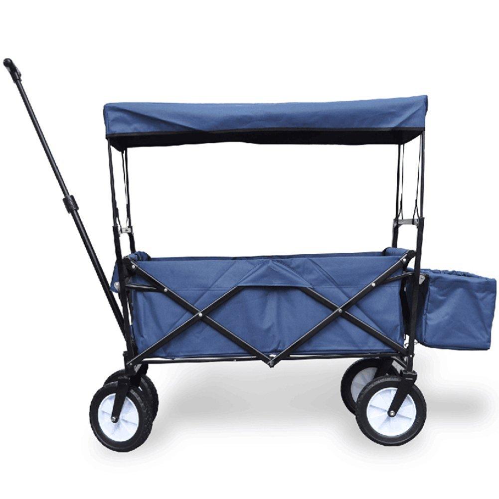 キャリーカートアウトドアワゴンカバーされた テールボックス 取り外し可能で洗える オックスフォード布 多機能 折りたたみ可能 スチールパイプ、 7色 (色 : 濃紺, サイズ さいず : 85 x 50 x 28cm) B07G16G5ZQ 85 x 50 x 28cm|濃紺 濃紺 85 x 50 x 28cm