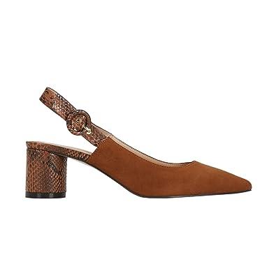 Heel À Shoes Snake Moyen Parfois Sandales Taille Femmes Talon FKclJ1