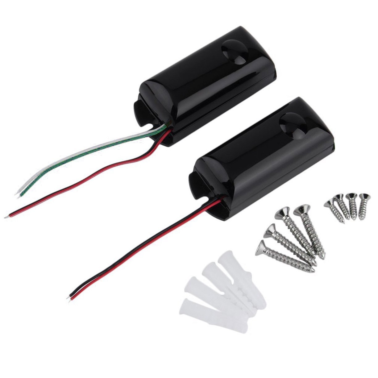 Detectoy 1Pcs Wired Single Beams Infrared IR Barrier Detector New Motion Sensor Outdoor For Home Safety Tool Accessories
