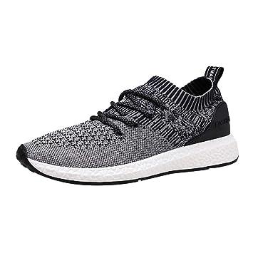 LuckyGirls Zapatillas de Correr Jogging Malla Calzado de Deportivas Moda Zapatos de Running Bambas de Las Hombres: Amazon.es: Deportes y aire libre