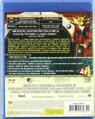 Tmnt: Tortugas Ninja Jovenes Mutantes Blu-Ray Blu-ray ...
