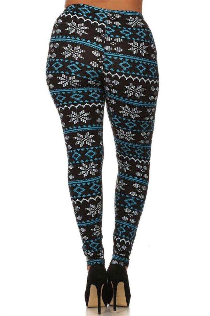 Plus Size Patterned Leggings Cool Ideas