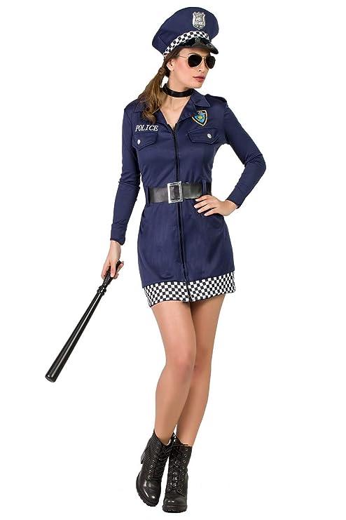 Disfraz Policia S: Amazon.es: Juguetes y juegos