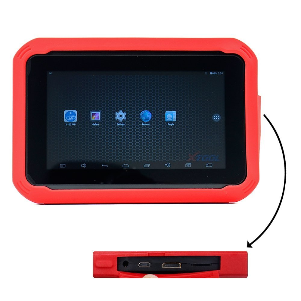 XTOOL X-100 PAD Tablet Key Programmer with EEPROM Adapter Support Special  Functions Free Update