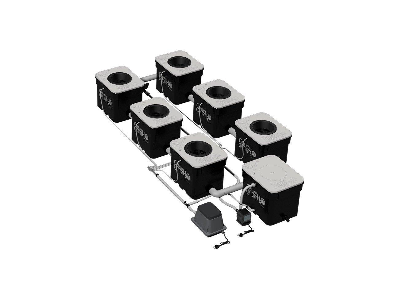 Under Current 6 XL UC6XL - 6 site - 8'' net pot - 8 gallon grow modules - 90 watt - 120V