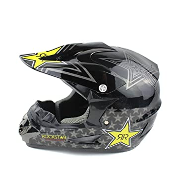 MATEROP Casco de la Motocicleta Off Road Casco Motocross ATV Dirt Bike Cruz Casco Motocross También