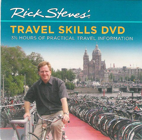 Rick Steves' Travel Skills DVD 3 1/2 Hours of Practical Travel Information