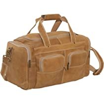 David King & Co. Distressed Leather Duffel