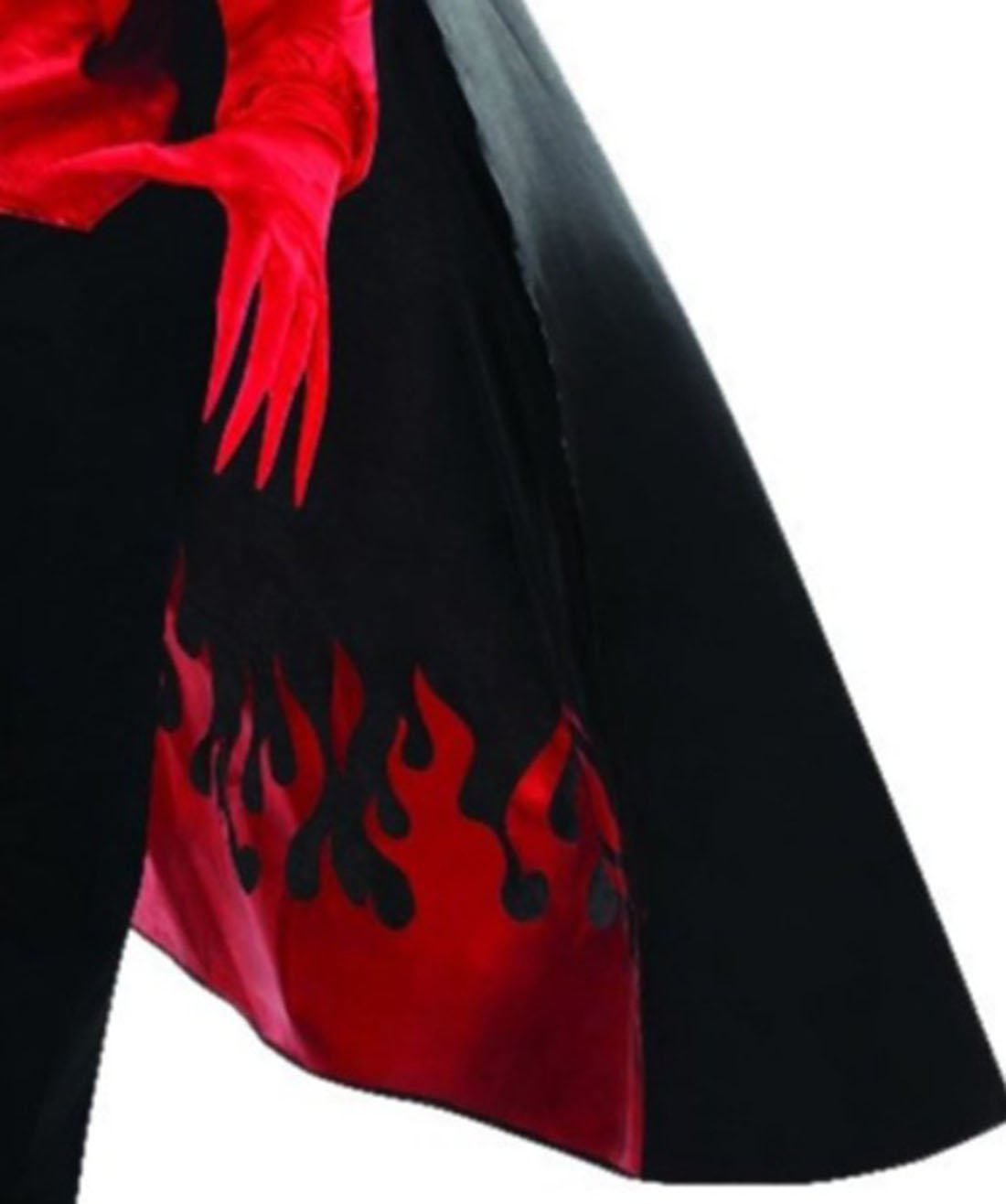 Karnevalsbud - Herren Teufel Diablo Kostüm mit Hemd Weste Weste Weste Umhang und Handschuhen, M/L, Rot f0bbf7