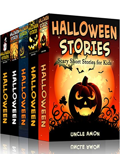 HALLOWEEN STORIES BUNDLE (5 Books in 1): Scary Halloween Stories for Kids, Jokes, Puzzles, and More! (Halloween Collection)]()