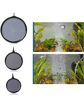 globalqi Oxygen Bomba Sumergible Burbujas Stone, para la purificación/Agua Peces de Acuario Tanque